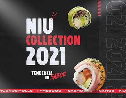 NIU SUSHI | Niu Collection 2021