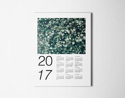 2017 Botanical Calendar Free Download