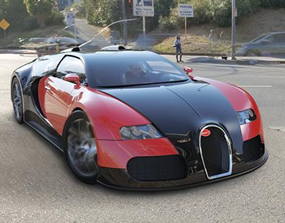 Bugatti Veyron 16.4 - Modeling & Rendering