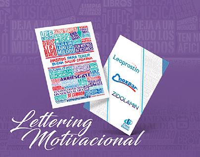 Lettering Motivacional - Línea Institucional