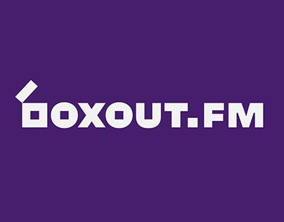 boxout.fm Brand Identity