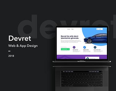 Easy Vehicle Transfer Web & App Design