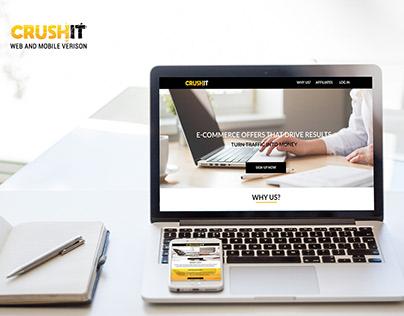 Website design CrushIT