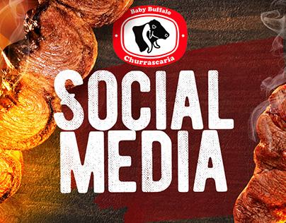 Baby Buffalo Churrascaria Social Media