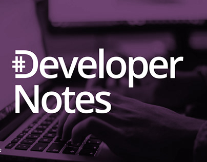 Blog Web site • Developer Notes