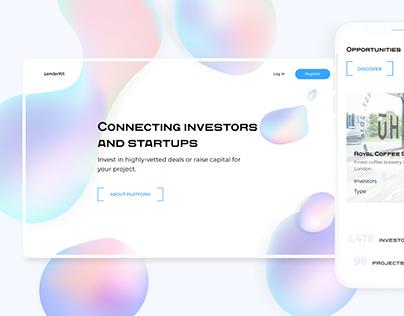 Crowdfunding platform | LenderKit theme