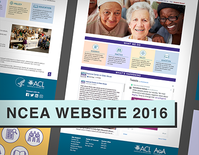 NCEA Site Redesign