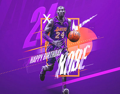 Nike (Spoof) | Kobe Bryant #24 | Birthday Graphic
