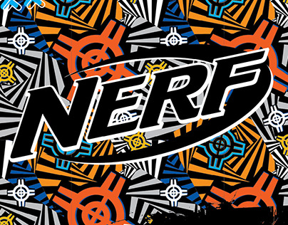 NERF Licensed Apparel (Design Pitch)