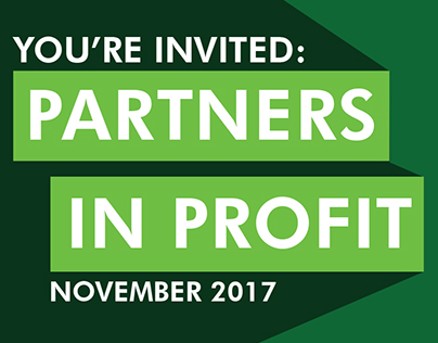NSG US Partners in Profit event postcard