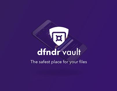 DFNDR Vault