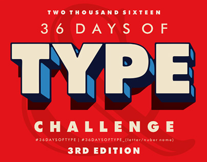 36 Days of Type - 2016