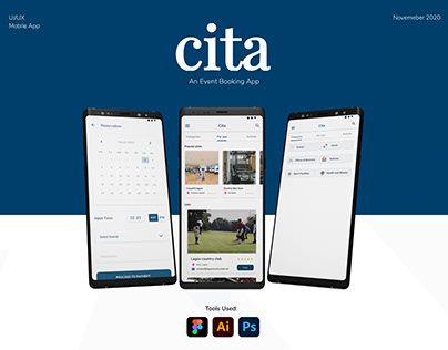 CITA: An Event Booking App