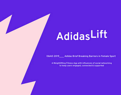 D&AD Adidas Brief 2019