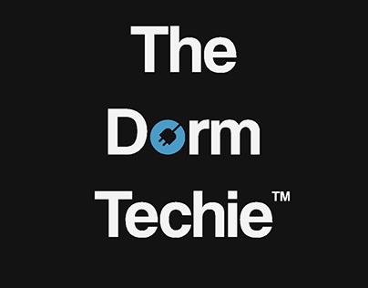 The Dorm Techie Word + Symbol Logo