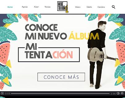 WEB DESIGN MIKE TRIVIÑO