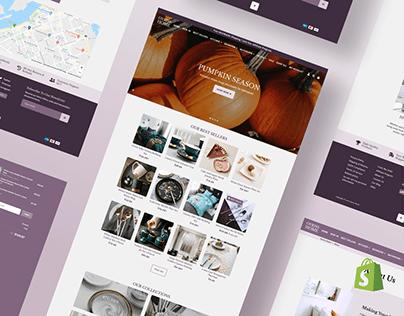 Home Decor Store Website Design & Development