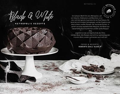 »Black And White« Metropolis Rezepte | sisterMAG42