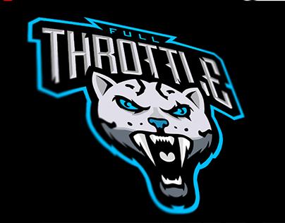 """E-sports logo """"Full Throttle"""""""