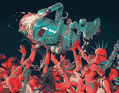 ViñaRock 2017 Poster