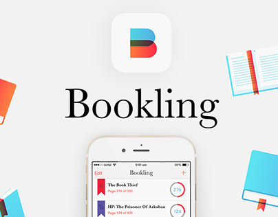Bookling Mobile App UI, UX and Animation