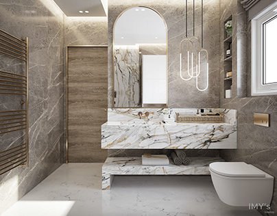 .. R I C H N E N E S S .. Master Bathroom