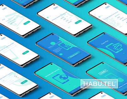 Habutel. Multi-platform mobile application