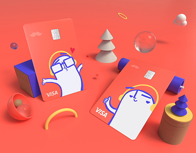 RappiPay Credit Cards Design