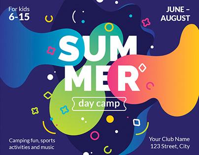 Summer Camp Templates Bundle