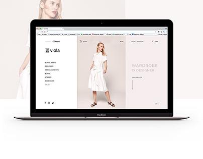 E-commerce Viola 1964 | Website