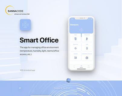 Smart Office App UI UX