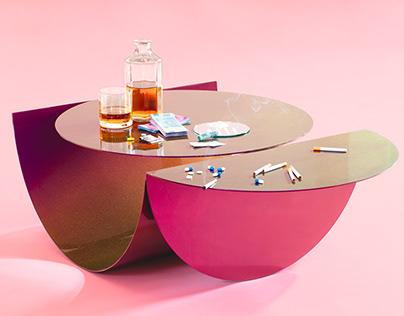 Iridescent Table
