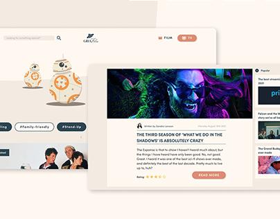 Film & TV Blog • Web Design