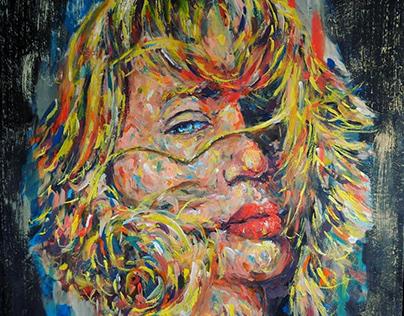 Believe Acrylic on canvas 50 x 50 cm