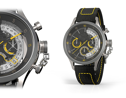 Cafe Racer Men's Watch - Personal Project