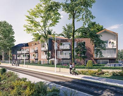 Apartartment Buildings in Wattignies, France