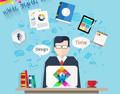 Creative Flyer Design - White Digital Web