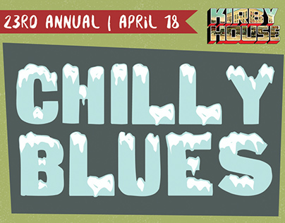 Chilly Blues Festival Poster