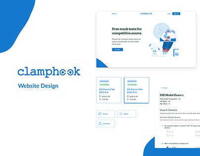 Clamphook Website Design