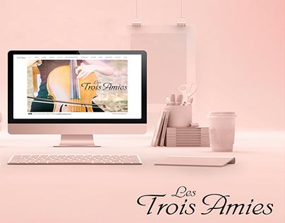 BIG Review TV - Les Trois Amies Website Redesign