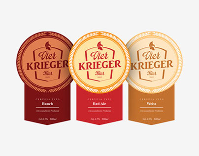 Vier Krieger Bier
