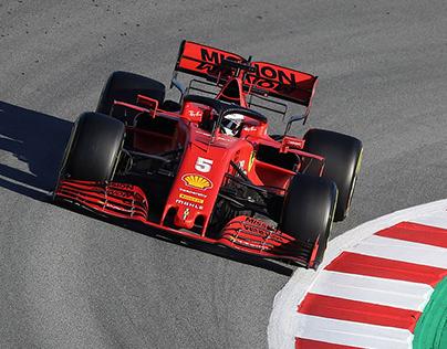 Formula 1 Practice - Barcelona 2020