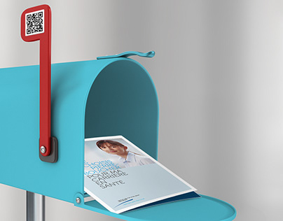 Recruitment booth concept for CSSS Pierre-Boucher