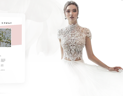 Wedding Blog Design