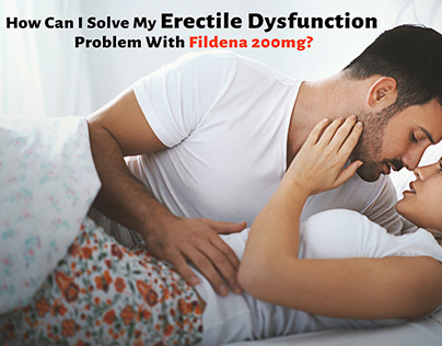 How can I Solve my ED problem with Fildena 200mg?