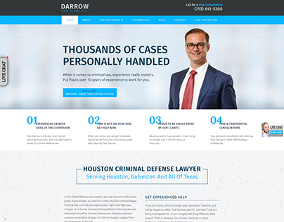 Houston Criminal Defense Attorney   Darrow Law Firm