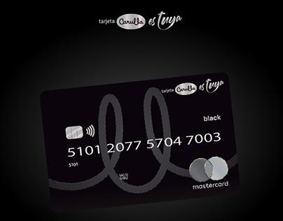 Tarjeta Carulla Black MasterCard