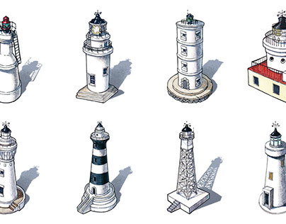 Lighthouses in Taiwan