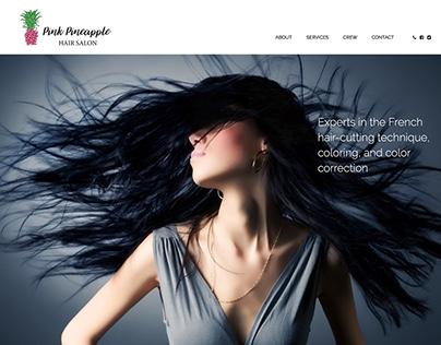 Pink Pineapple logo & website