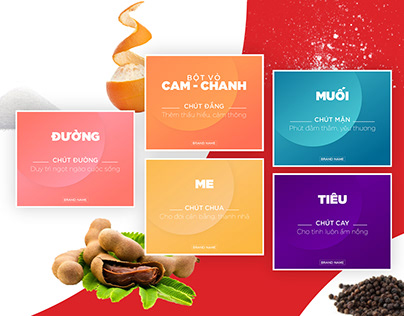 Spices Packaging Concept